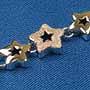 925純銀時尚手鏈(星形)